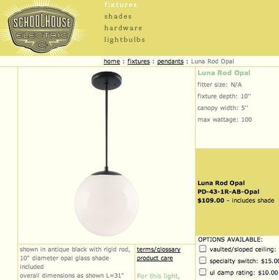 Eichler Globe Lights Redneckmodern