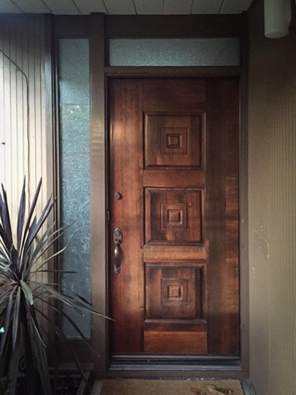 Nicola And Wilson S New Front Door Redneckmodern